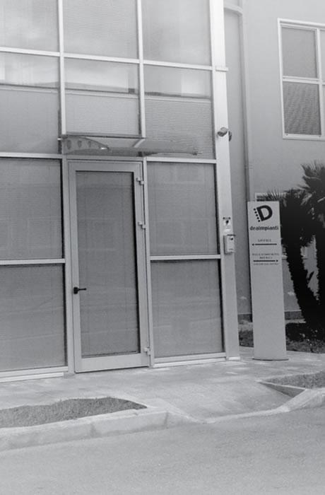 La sede della Dea Impianti a Taranto
